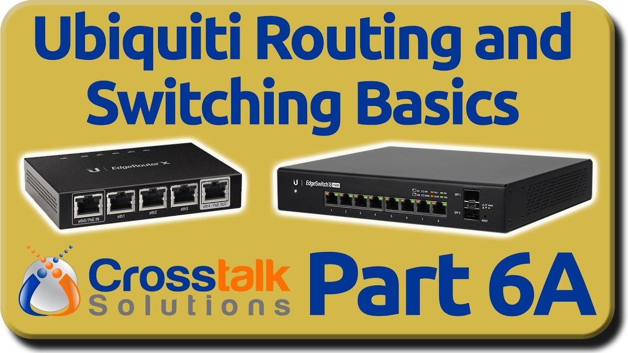Ubiquiti Routing and Switching Basics - Part 6A - Static Routing