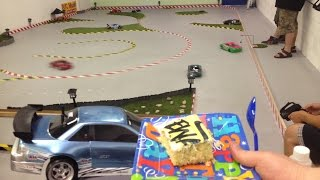 Cake and Drifting @ Galaxy Hobby