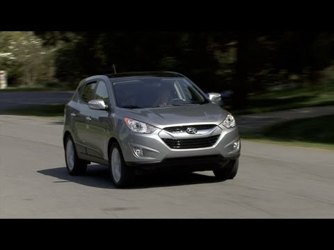2010 Hyundai Tucson Test Drive