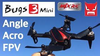 MJX Bugs 3 B3 Mini Drone sin escobillas con 1306 2750Motor KV 4 en 1 4A ESC RC Quadcopter RTF