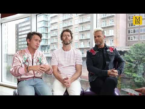 Take That Interview - Manchester Pride (The Band)