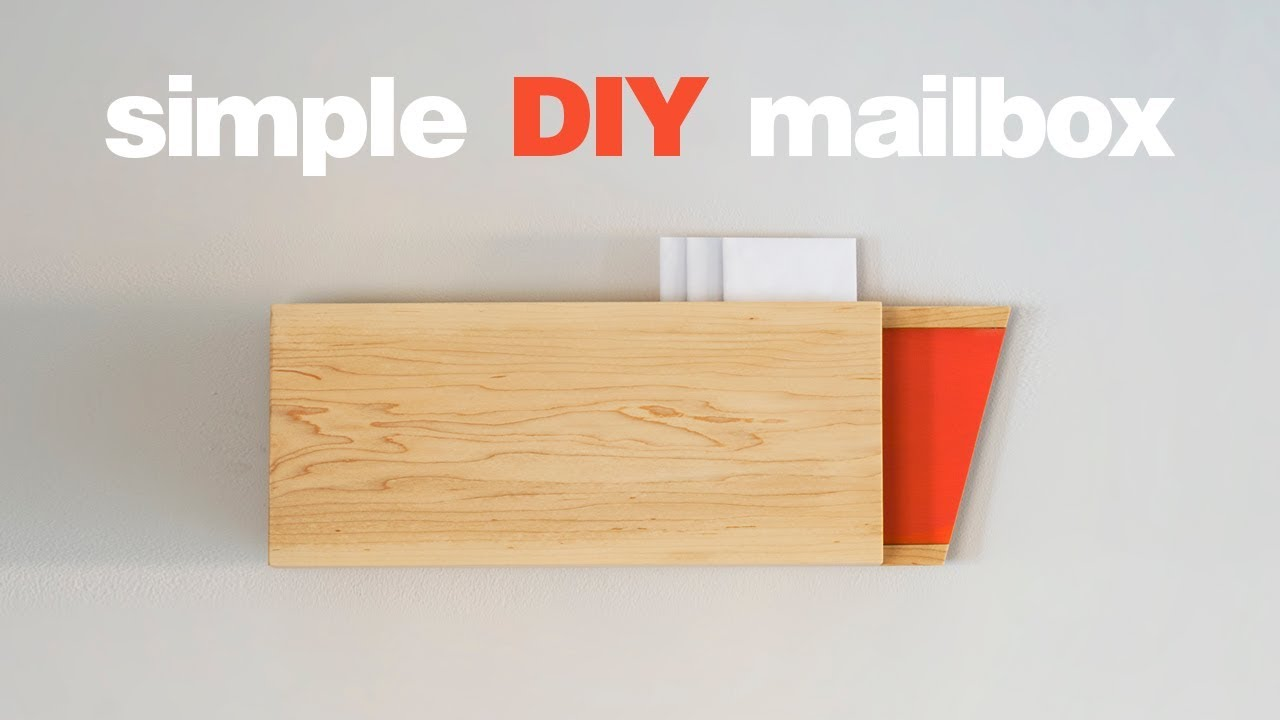 Diy Mailbox Simple Woodworking Projects
