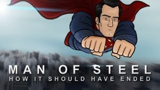 Repeat youtube video How Man Of Steel Should Have Ended