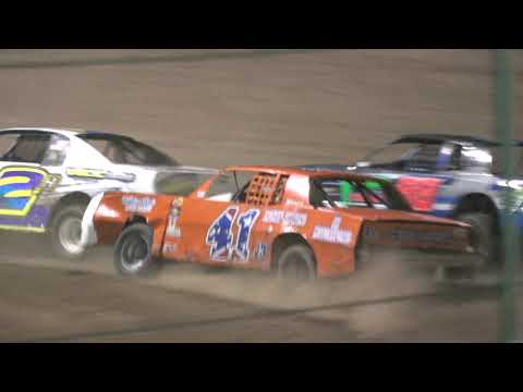 IMCA Stock Cars Main Event 4/20/2019 @ Canyon Speedway Park