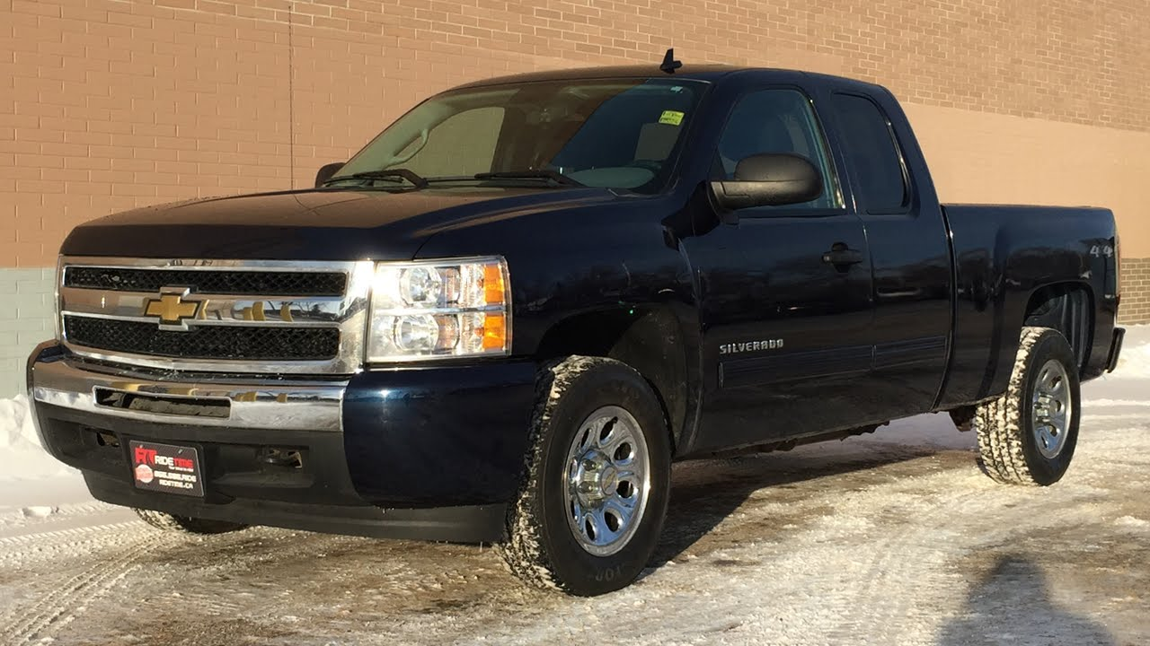 2011 Chevrolet Silverado 1500 Ls 4wd Extended Cab Power Windows Locks Amazing Value