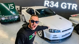 I FOUND A SKYLINE R34 GTR TO BUY FOR THE CHANNEL!  *EMELIA HARTFORD COLLAB*