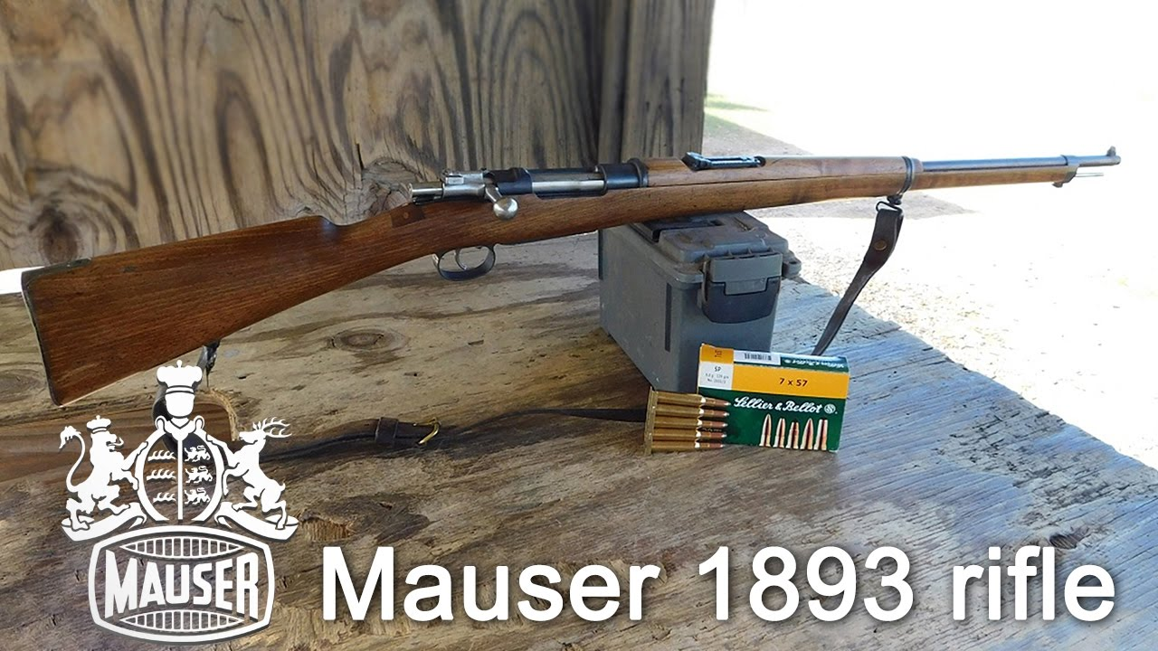 Gun Review: Spanish Mauser M93 bolt action rifle in 7x57mm