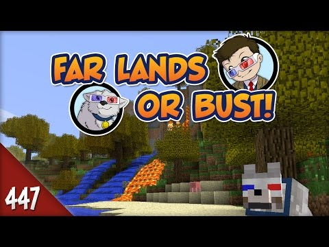 Minecraft Far Lands or Bust - #447 - Active Volcano