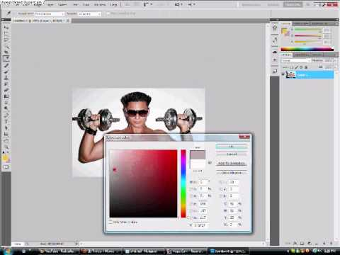 how to make a watermark in photoshop youtube