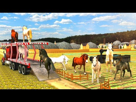 Airplane Horse Transporter - Best Android Gameplay HD