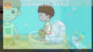 Froggy Potty with Rattle and Roll