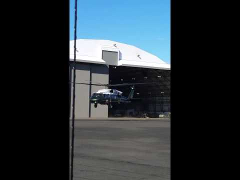 VH-60N White Hawk aka Marine One when the presiden
