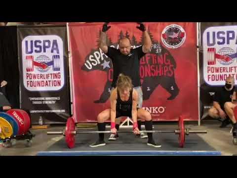 Allison Ross - 209.4 lb Deadlift