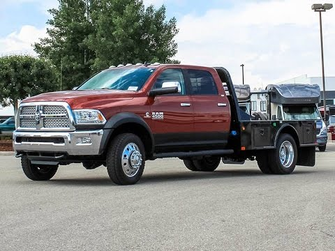 2013 DODGE RAM 4500 LARAMIE FLATBED TRUCK - Transwest Truck Trailer