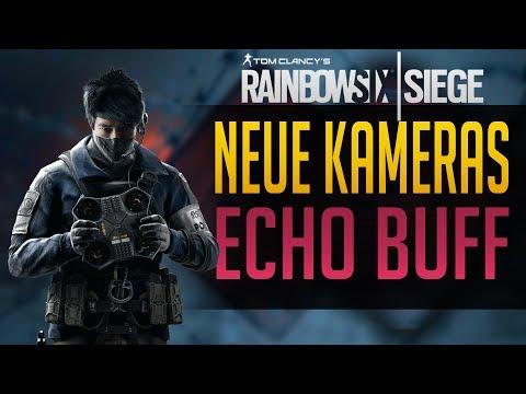 Rainbow Six Siege | KUGELSICHERE KAMERA UND ECHO BUFF