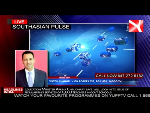 Channel Y 24Hrs7Days Live Stream/ South Asian Pulse Dated 28th Mar 2018
