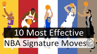 10 Most Effective Signature Moves in NBA History
