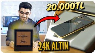 24K Altın Kaplama iPhone X Kutu Açılımı (20.000TL) Türkiye'de Tek