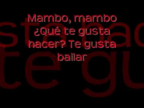 Mambo - Realidades Hip Hop Song lyric video - Spanish grammar