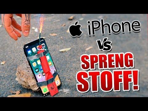 1250€ iPhone VS Sprengstoff !