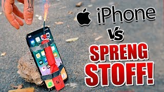 1250€ iPhone VS Sprengstoff !