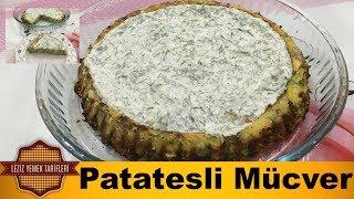 Tart Kalıbında Patatesli Fırında Mücver Tarifi| Leziz yemek tarifleri