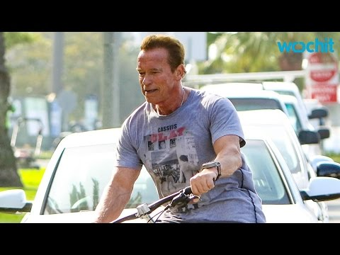 Police Stop Schwarzenegger For Riding His Bike Too Fast At Munich Station