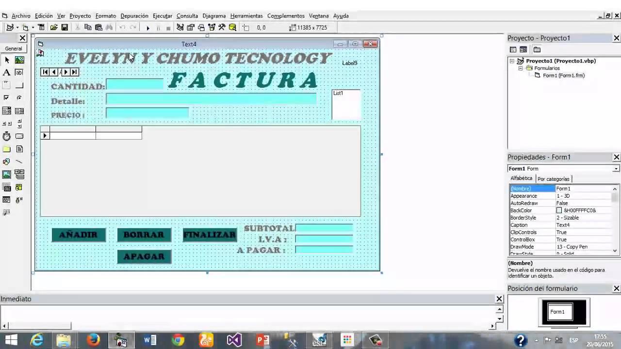 da44fa9a33acc Hacer Un Formulario de Visual Basic 6.0 A Ejecutable .EXE - YouTube