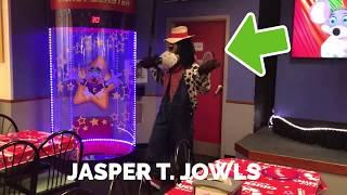 CHUCK E CHEESE- featuring JASPER T. JOWLS