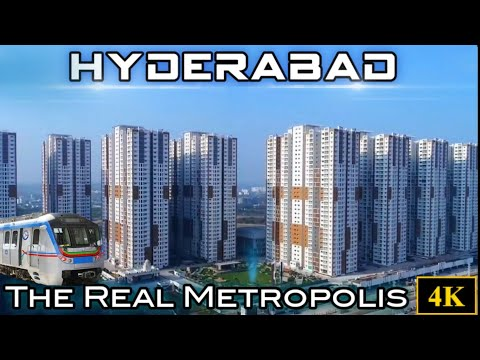 Modern Hyderabad || India's Tech capital | City of Pearls ||
