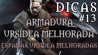 The Witcher 3: Wild Hunt - Armadura Ursídea Melhorada/Espadas Ursídea Melhoradas - Dicas #13