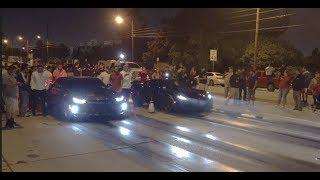 C7 Corvette Grand Sport Vs 6th Gen Camaro SS $3,200 Street Race