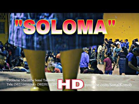 """San Pedro Soloma"" Sensacional Marimba Sonal Yalmotx"