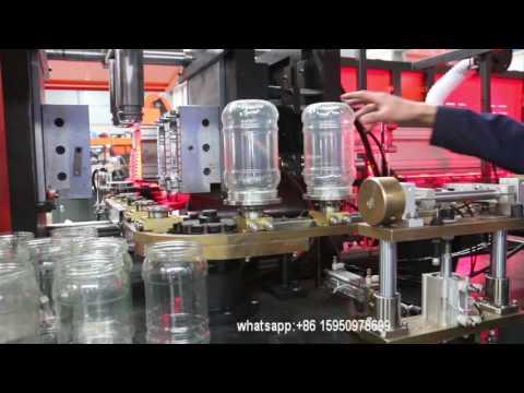 PET jar blowing machine/jar making machine 2liter 2cavity