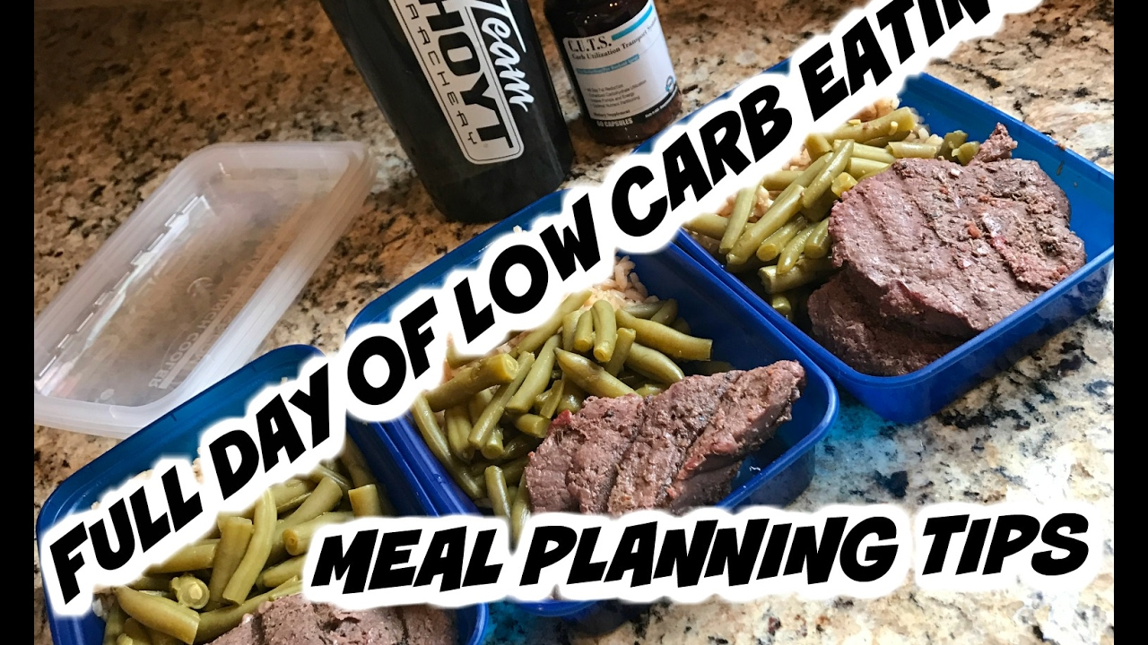 Full Day of Eating Low Carb | Meal Planning Tips  | Road to the Arnold Episode 25