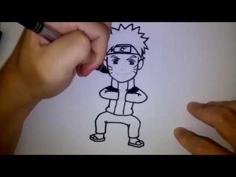 นารุโตะ สอนวาดรูป การ์ตูน by วาดการ์ตูนกันเถอะ