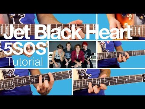 ► Jet Black Heart - 5SOS - Guitar Lesson (Tutorial)