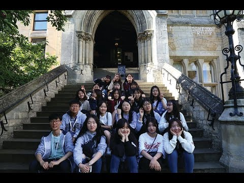 Daegu Foreign Language High School Students - Tour of Oxford