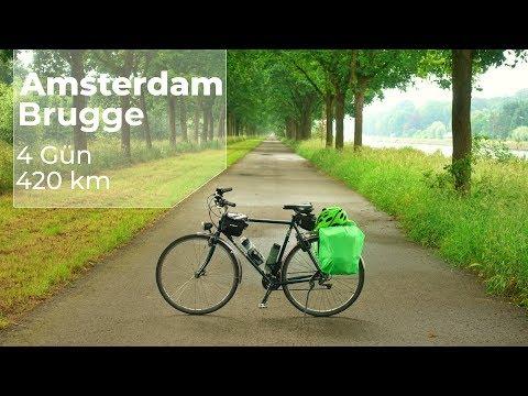 Hollanda & Belçika Bisiklet Turu || Cycling tour to Belgium from The Netherlands