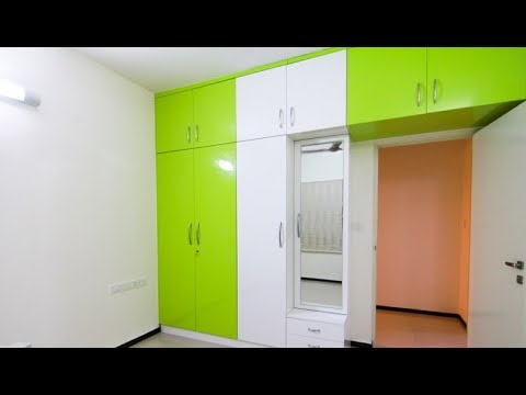 Wardrobe With Dressing Table Designs Youtube