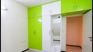 Wardrobe With Dressing Table Designs