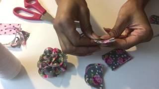 How To Make Men's Węar Lapel Flowers For Lapel Pins