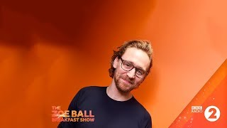 Tom Hiddleston  interviewed on BBC Radio 2 on January 18, 2019.