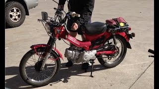 Zongshen 190 - Postie bike - 190cc Engine conversion
