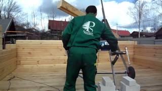 Брусовой дом строю сам(способ постройки брусового дома., 2015-09-05T15:47:31.000Z)