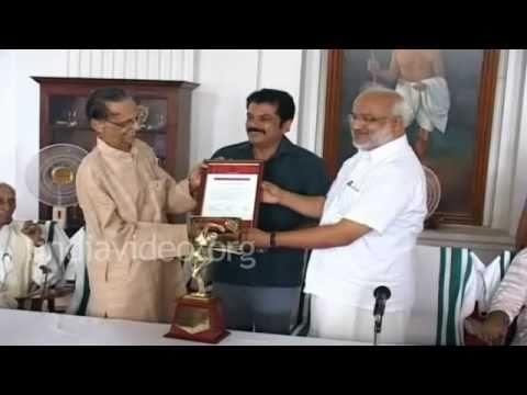 Cultural award for Kavalam Naryana Panicker