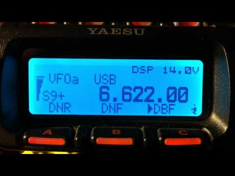 6622 KHz  USB   MWARA  Gander Radio