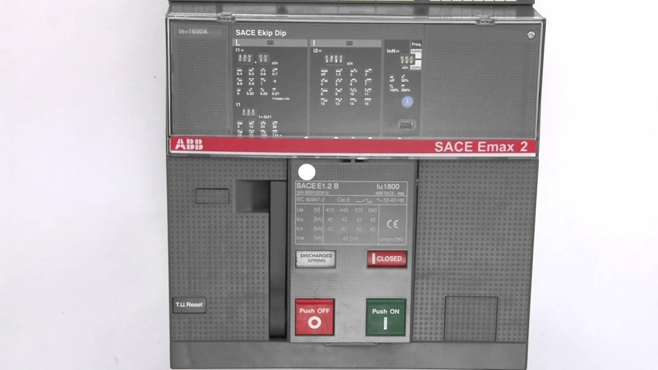 sace emax 2 safety operation for withdrawable version for e1 2 rh youtube com abb sace e2 manual pdf ABB SACE T-Max 250