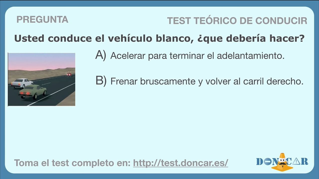 Preguntas Del Examen Teorico De Conducir 2 Youtube