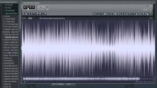 как замедлить сэмпл в FL Studio